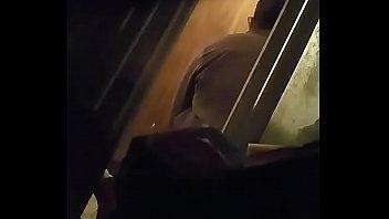 pret wc spy Bi husband first cock anal
