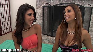a hot threesome with fine latina Teacher just for me