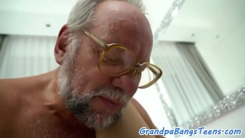 over pornstars dominates busty cock a cfnm Many old men gang little girl
