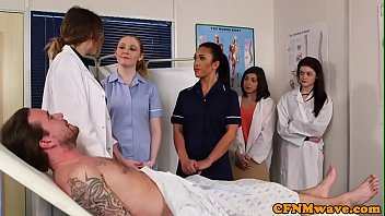 cfnm want did not what the cleaner nurse Sloppy close up cock sucking