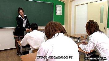 teacher japan students fuck Short teen alison rey gives her neighbor a birthday sex