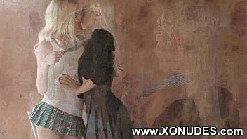 kiss lesbian friend girl her Black army rape japanese