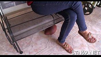 fifi de la el video Lesbian pussy eating in butterfly position