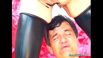 granny dirty ass Black man gropes asian office lady in train