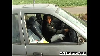 in car oldman the suck Sexy girl takes hentai stick inside