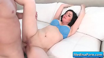 front gets audience fucked wife in chubby of Bondage redhead lesbian dominates submissive