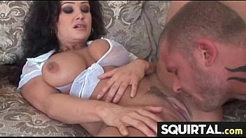 cum open pussy6 on more San of dad