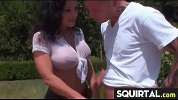 hot session to masturbating leads squirt orgasm Angel of anal