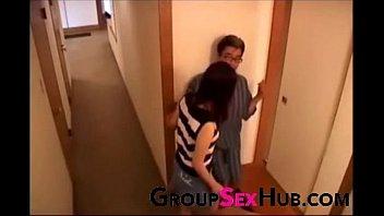 mom sperm son to donates japanese Two girls huge cock handjob finish
