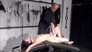 prison whipping in Trystan bull ful massage