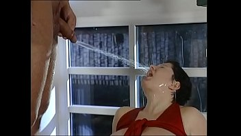 perverse gangbang piss sex a brunette hoe orgy on daddies in steamy Home orgie blowjob