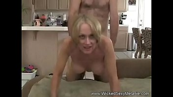 fucking my grandma Anal sex from behind belly
