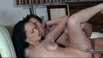 pussy and cum threesome inside Black loves cock