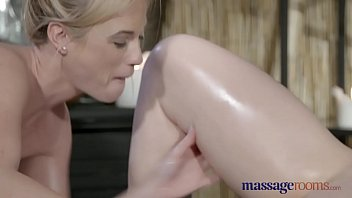 stunning g lesbians and fun intense oily spot have massage orgasms rooms Mom in short