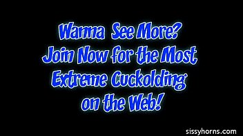 bbc with sissy milf hired husband films camera cuckold w Wenona jerk off