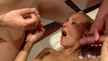 massaged husband being wife watching Silver toe nails