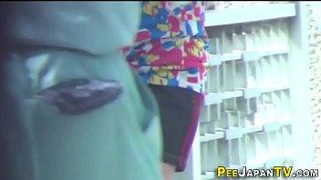 asian half babe Cheating redhead hidden cam
