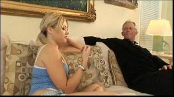 watches dick sucking grandma while grandpa Asian guys gangbang blonde