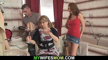 video bantan free six Mature woman watch guy jerking off
