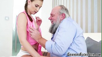 gay grandpa bottom Touch your ass joi