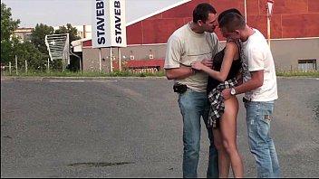cumming on public girls Man lick his cum on teen feet