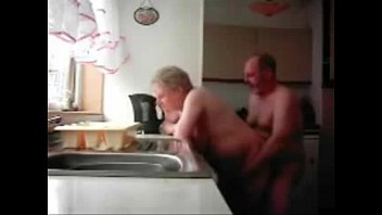 in and kitchen fuck Daddy father gay virgin boy18