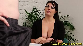 femdom boy office cunnilius Mom and dad threesome with shemale