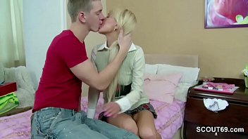 gets sister handjob cream hairy Friends mother 2
