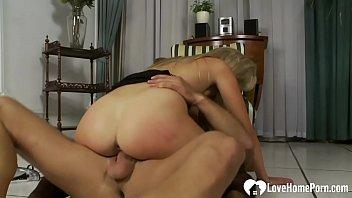 small tits curvy Guy jerks off his massive dick