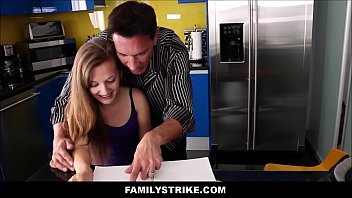 bed sear daughter dad Woodman casting mother dauhgter