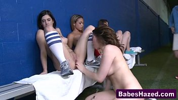 lesbian roommate college my Two sexy asian sluts getting loose with each other