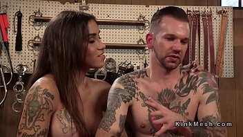 beefy straight a blowjob boy gets Father son daughter threesome