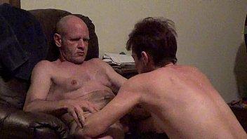husband wife treesome up wake Horny doctor bareback at clinic